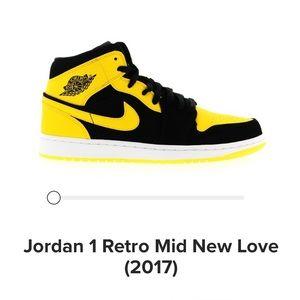 Jordan 1's Retro Mid New Love